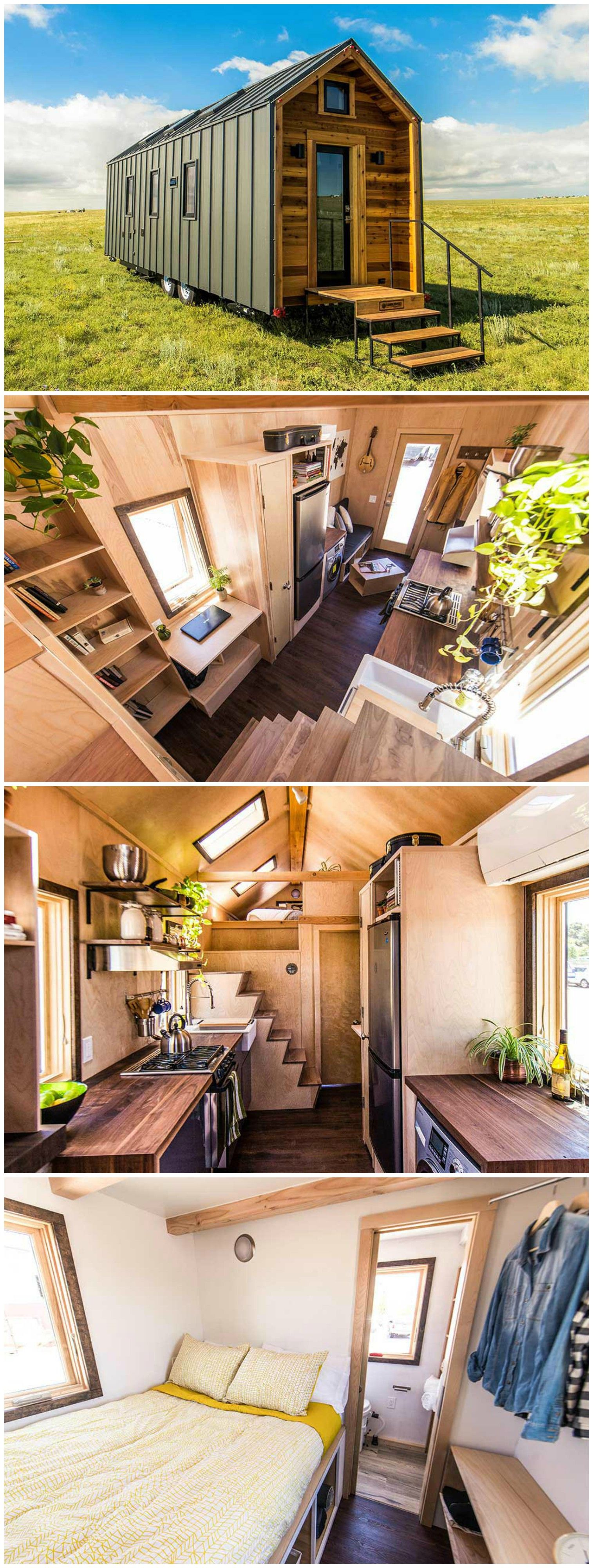 Farallon Is A Beautiful Tiny House Built By Tumbleweed