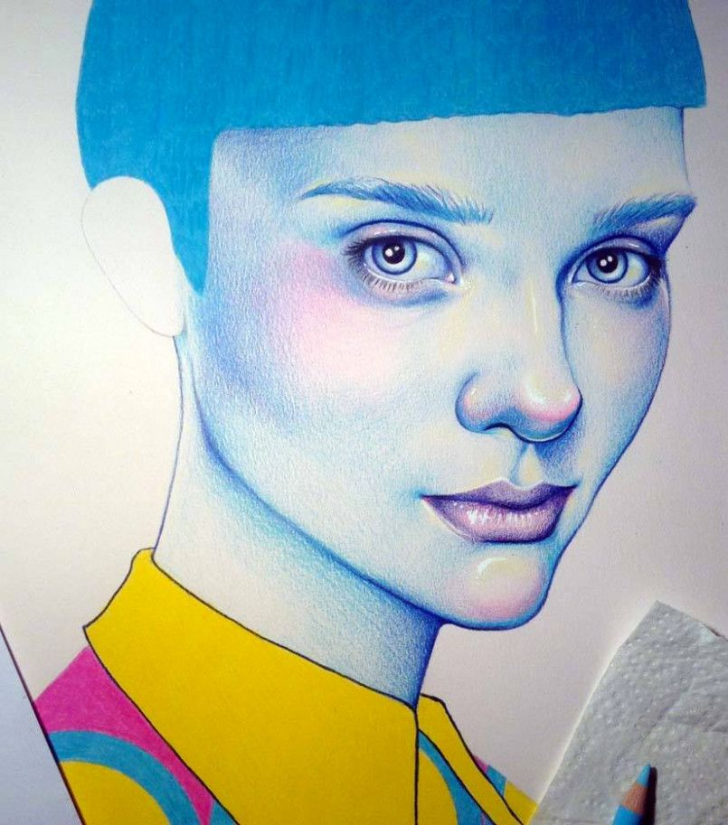 Colorful Pencil Illustrations by Natalie Foss | Inspiration Grid | Design Inspiration nataliefoss.co.uk