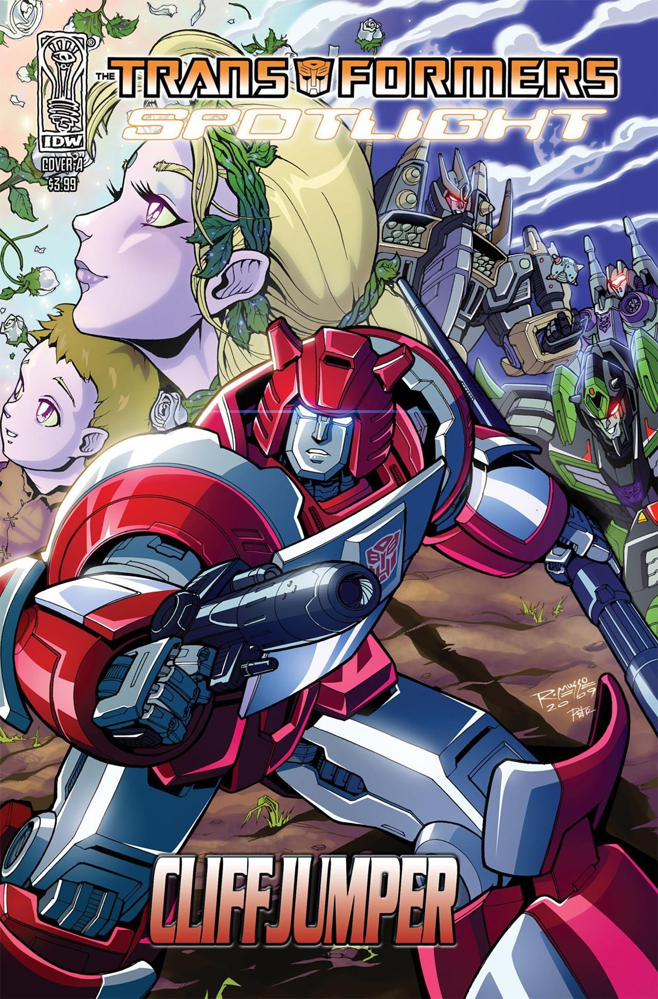 The Transformers: Spotlight: Cliffjumper