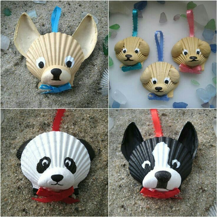 Dog Craft Ideas For Kids Part - 39: 16 Adorable Seashell Craft Ideas You Should Do With Your Kids
