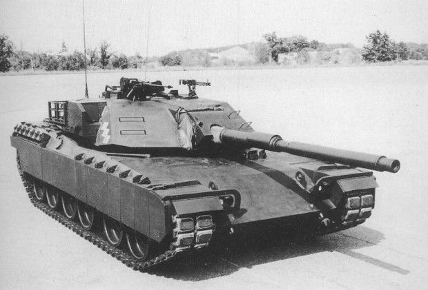 General Motors Xm1 Prototype Image Tank Lovers Group War Tank