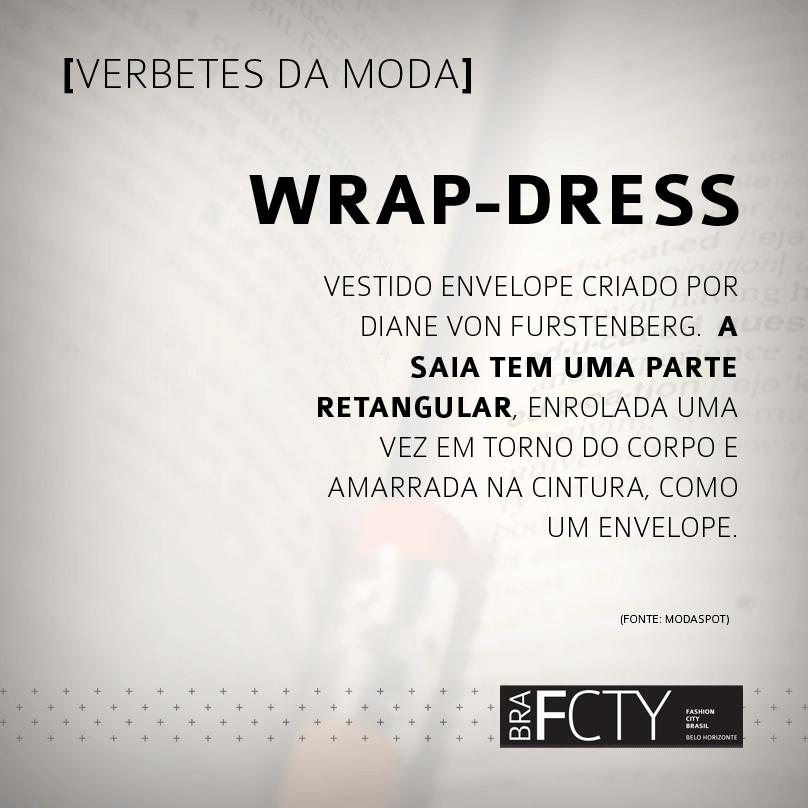 O que é wrap-dress?