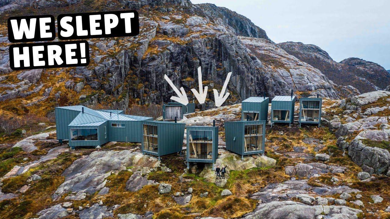 Tiny Home Village In Norway Incredible Sauna Outdoor