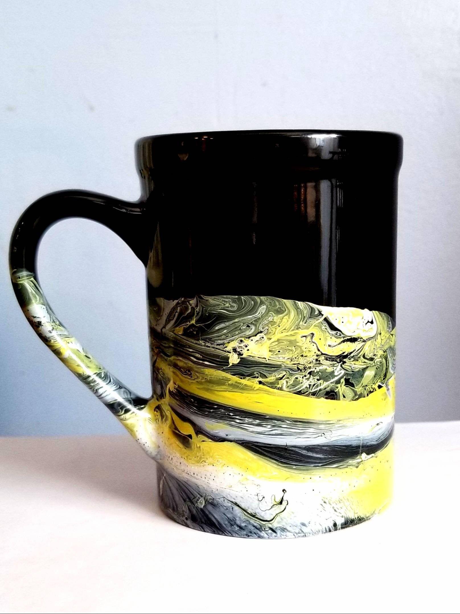 16 oz coffee mug yellow etsy 16 oz coffee mugs mugs