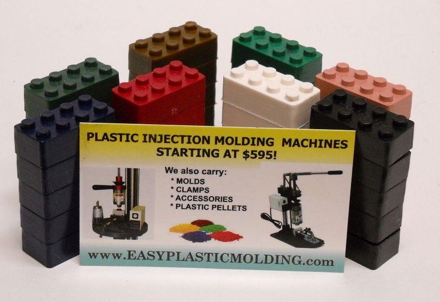 Injection Mold Your Own Interlocking Plastic Blocks Plasticos Reciclaje Moldes