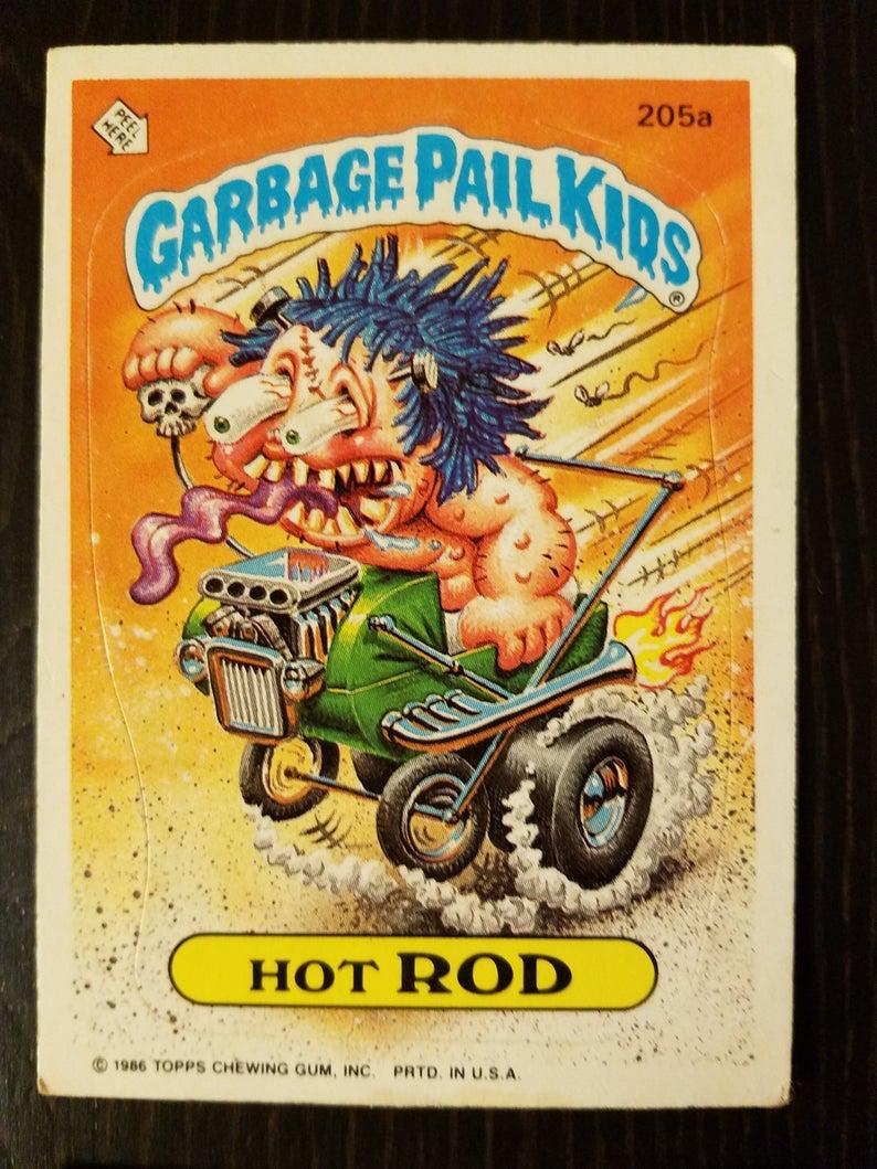 Original Garbage Pail Kids Cards Series 5 1986 Garbage Pail Kids Cards Garbage Pail Kids Kids Cards