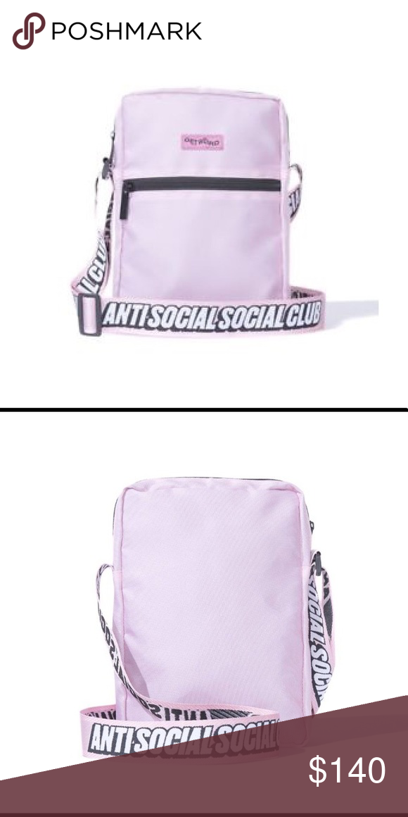 7422d558bcfd NEW IN PACKAGE - ANTISOCIAL SOCIAL CLUB (ASSC) Pink side bag Unisex Anti  Social Social Club Accessories