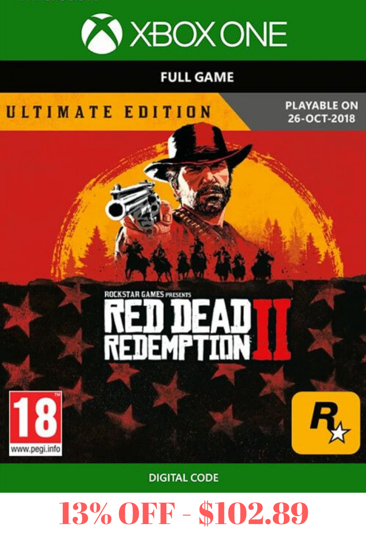Red Dead Redemption 2 Ultimate Edition Xbox One Red Dead Redemption Ii Red Dead Redemption Xbox One Games