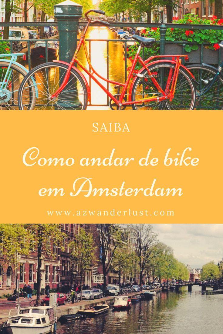 Ams foi feita para andar de bike e com certeza é uma das cidades que mais utiliza o meio como transporte. As bicicletas estão espalhadas pela cidade, às vezes presas nas pontes e outras encostadas na árvore. Saiba mais...