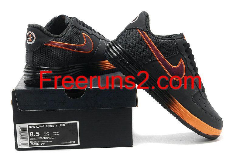 5260eefaf2bc Nike Lunar Force 1 Leather Superhero Galaxy Anthracite Dark Obsidian Bright  Citrus 580383 001 half off Cheap Nike Skate Shoes