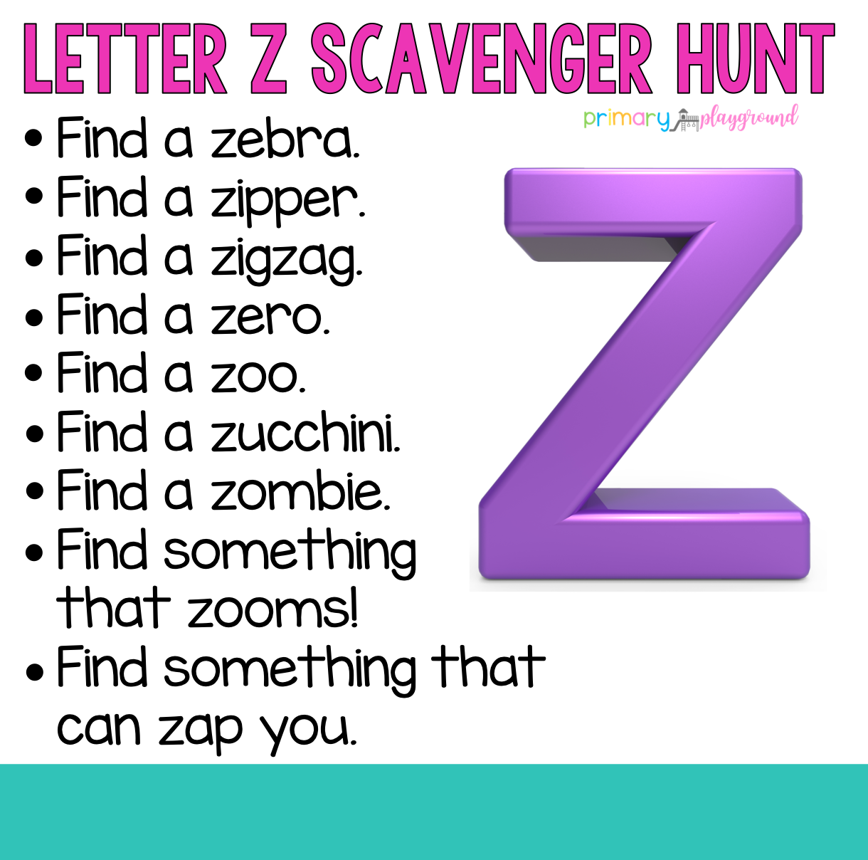 Pin On Alphabet Scavenger Hunts