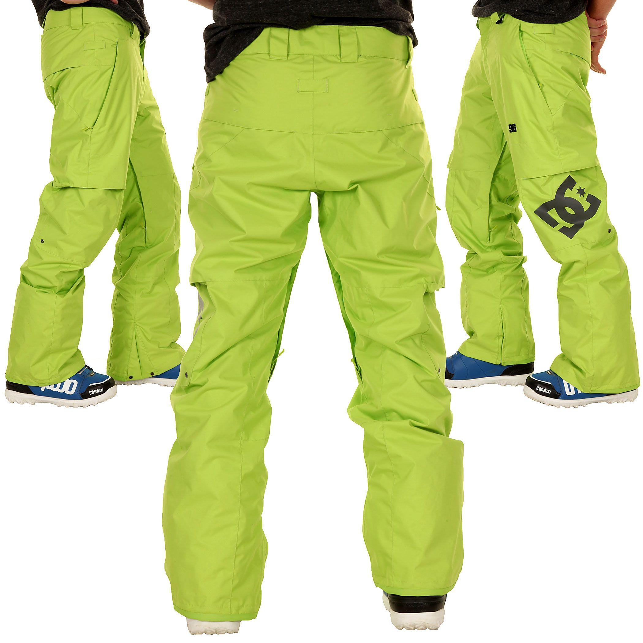 DC Banshee Snowboard Hose (lime green) kaufen bei skatedeluxe ...