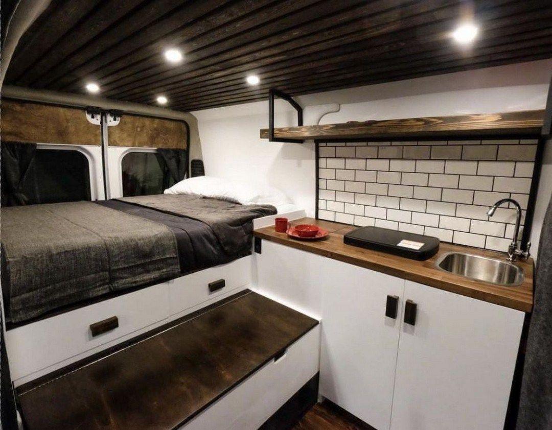 Awesome Camper Ideas Vanlife Interior Design (13)