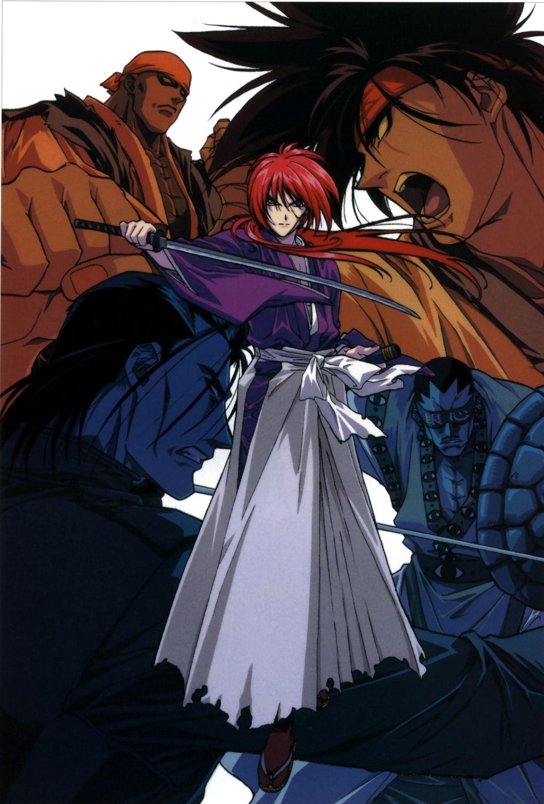 ruroken Manga anime
