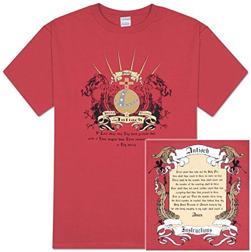 5b4644a2fa8 Monty Python - The Holy Hand Grenade of Antioch with Instructions T-Shirt  Size M