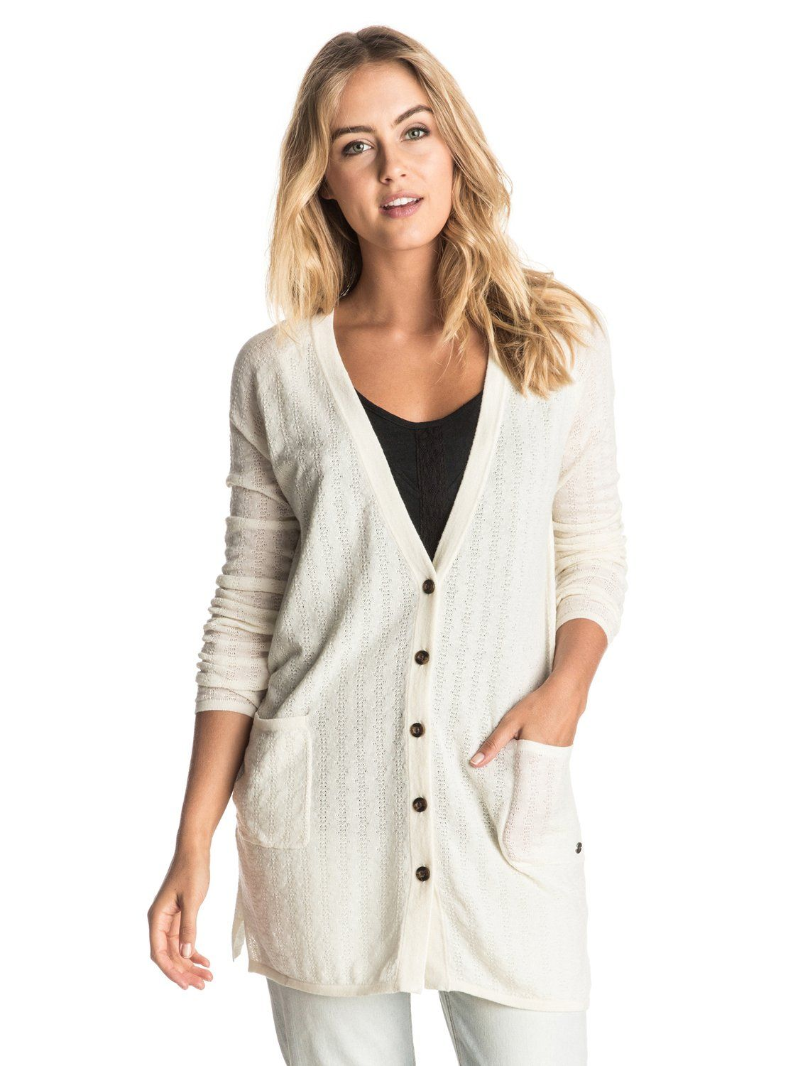 Belle Isle Button Up Sweater | Roxy, Belle and Long cardigan