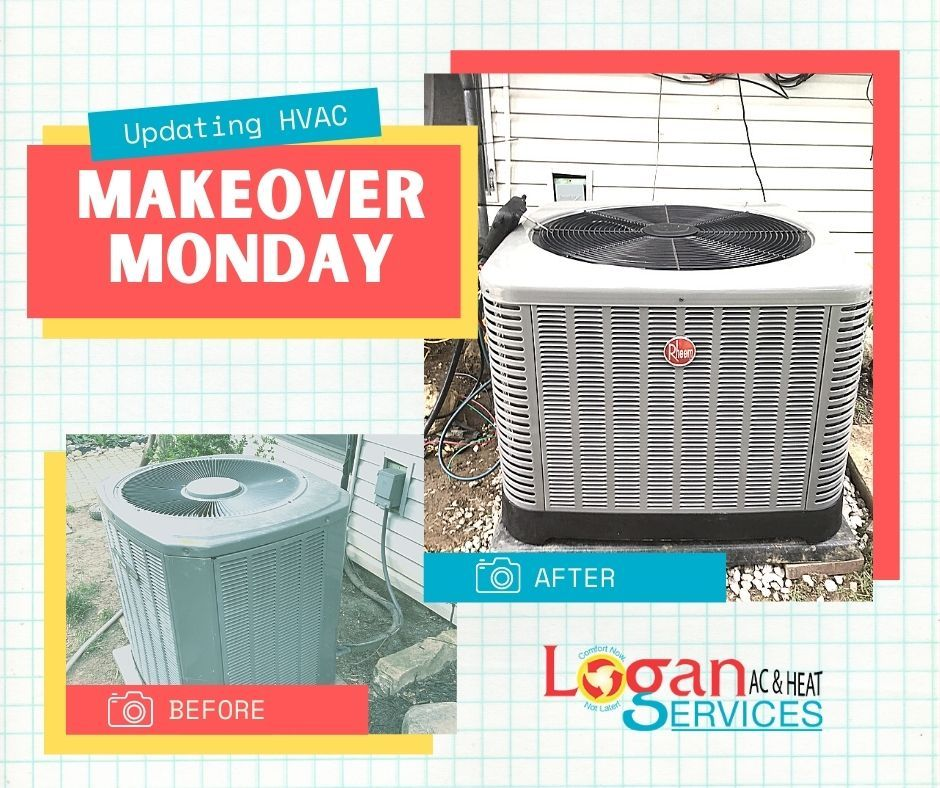 Makeover Monday in 2020 Heating services, Makeover, Ac