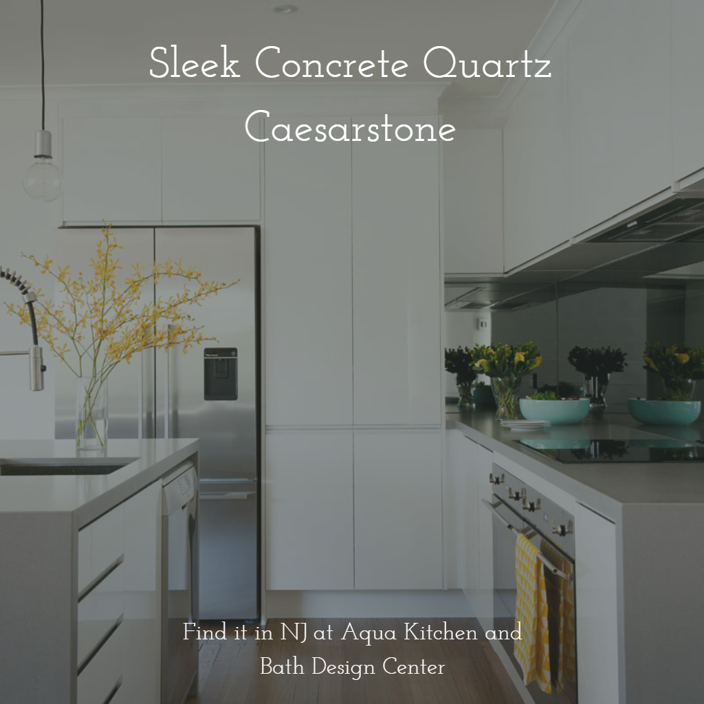 ... Sleek Concrete Quartz Countertop Is The Ideal Solution For Those  Looking To Create Modern Industrial Look In Their Kitchen. Find It In New  Jersey.