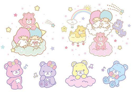 Little Twin Stars + Care Bears.