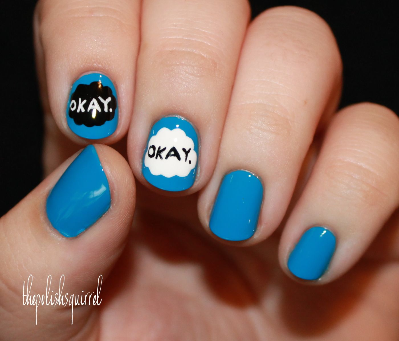 These nails r the best!!!!!!!!!!!! (The fault in our stars is the ...