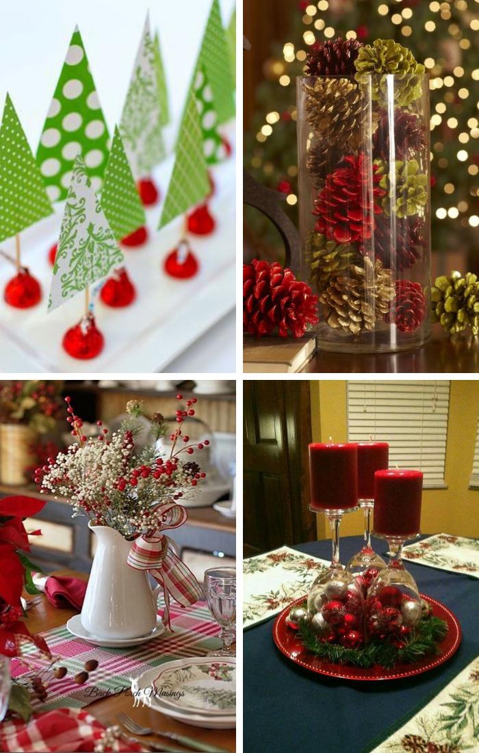 Christmas Table Centerpiece Ideas Christmas Table Centerpieces Christmas Centerpieces Diy Christmas Centerpieces