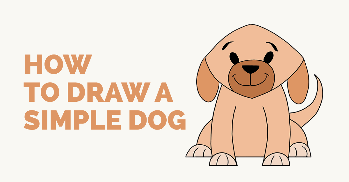 To draw a simple dog easy and simple guide how to draw a simple dog easy and simple guide ccuart Image collections