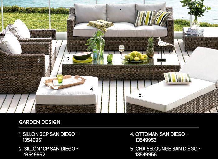 C mo cuidar tus muebles de terraza dco blog saga for Decoracion hogar falabella
