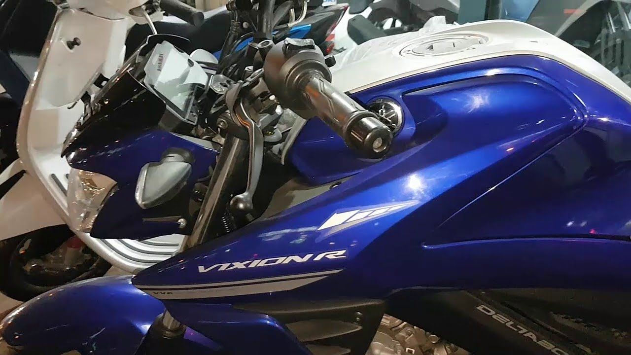 Meet Yamaha Vixion R Blue Series Price Specs 2018 Yamaha