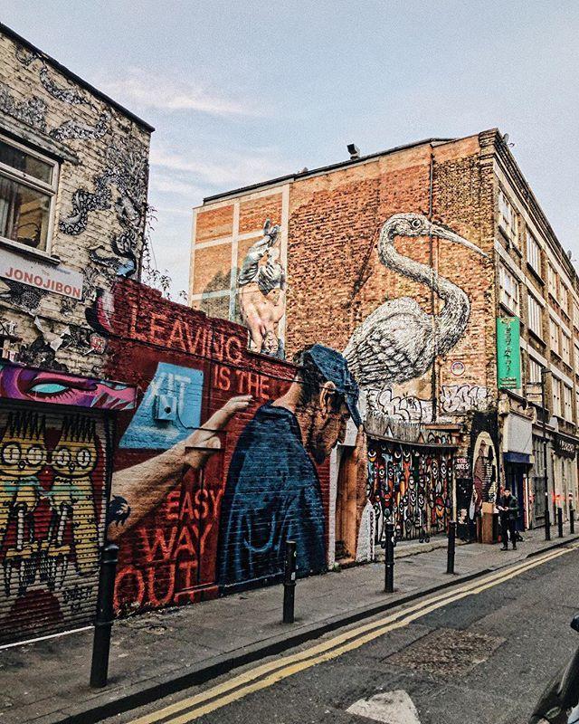 Brick Lane: Brick Lane East London #london #londontravel #uktravel
