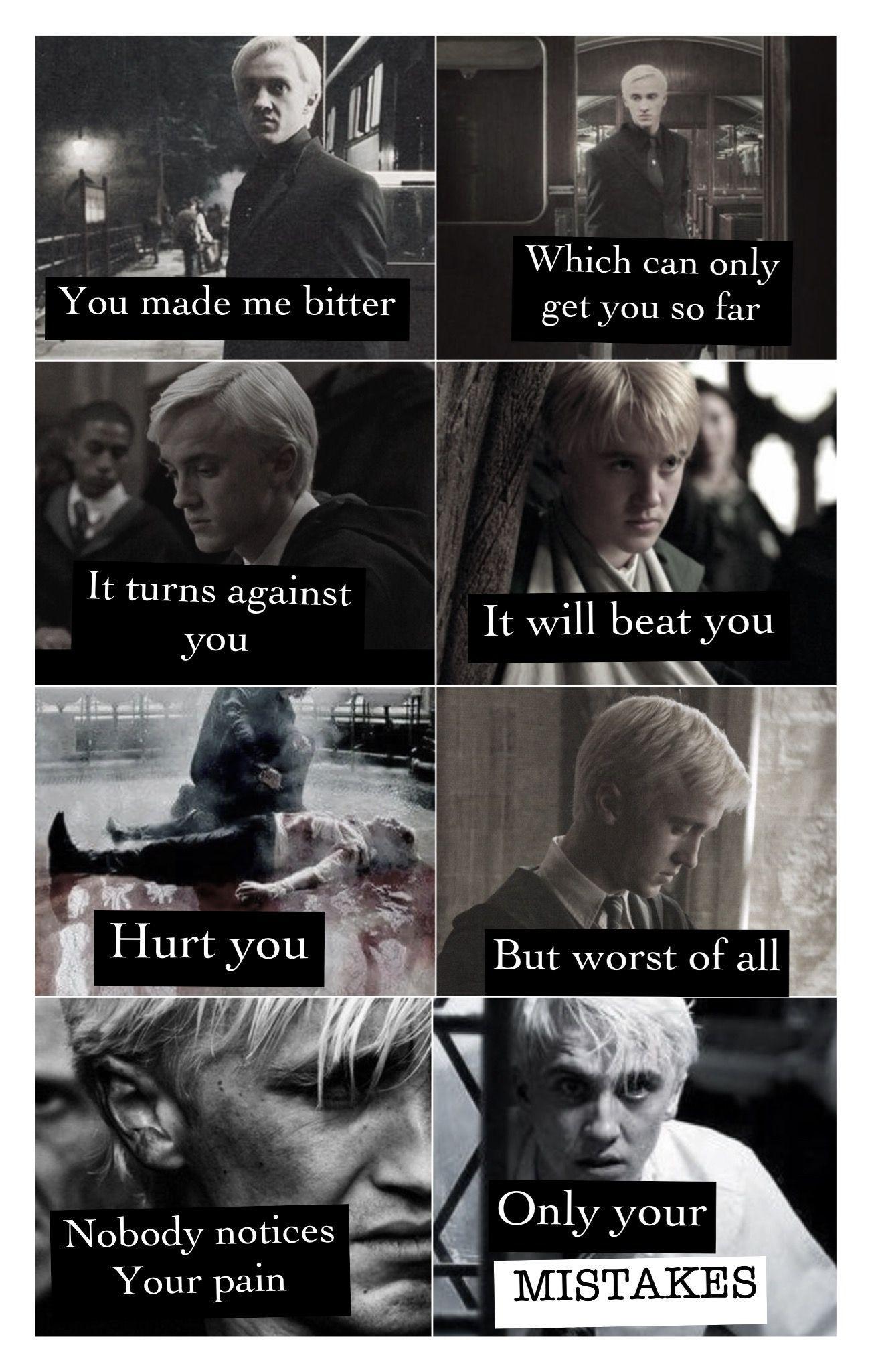 Pin On Harry Potter Memes Draco Malfoy Sad