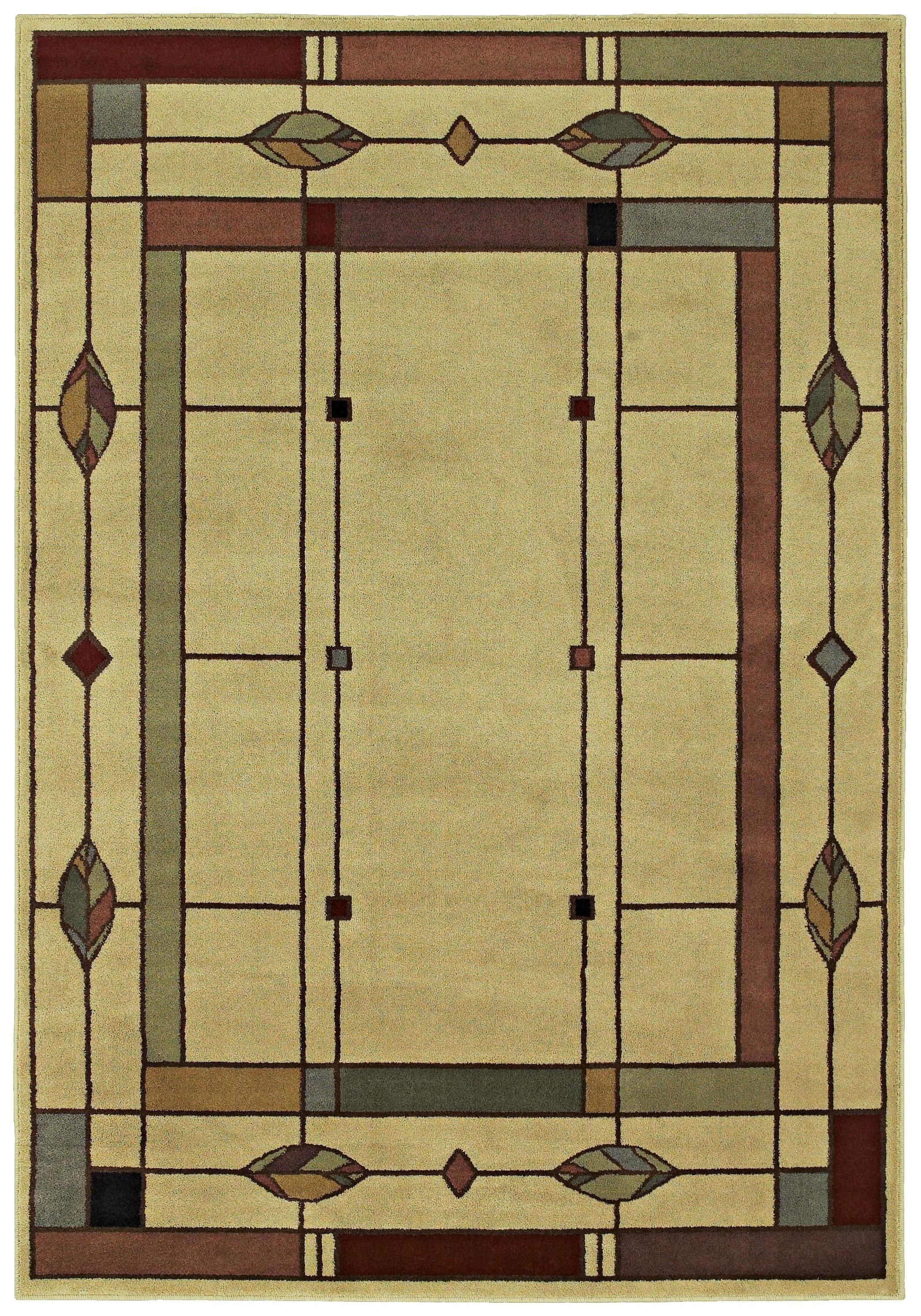 Good RugStudio Presents Shaw Phillip Crowe Timber Creek Mission Leaf Machine  Woven, Better Quality Area Rug