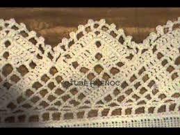 Resultado de imagen para bordes para mantel en crochet