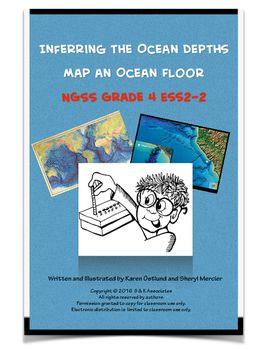 Inferring Ocean Depths Map An Ocean Floor Ngss Grade 4 Ess2 2 With Images Ngss Ocean Depth Ocean