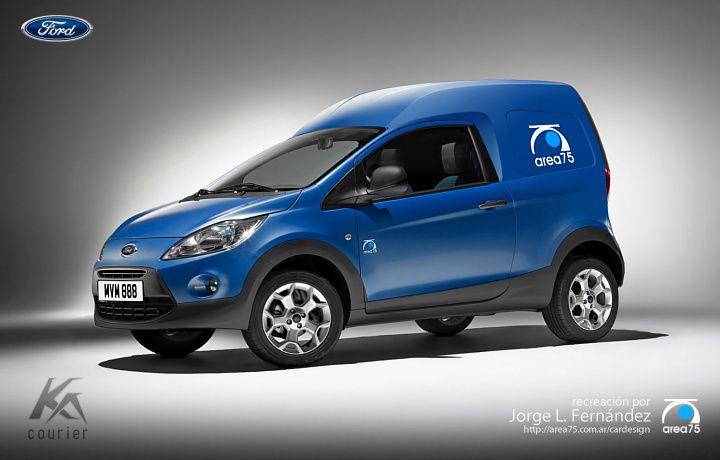 Ford Ka Courier Version Europea