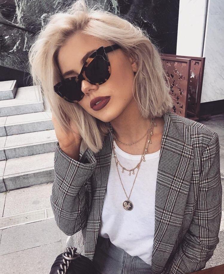 H & M Womens Plaid Jacket Blazer Sz 4 #fashion #clothing