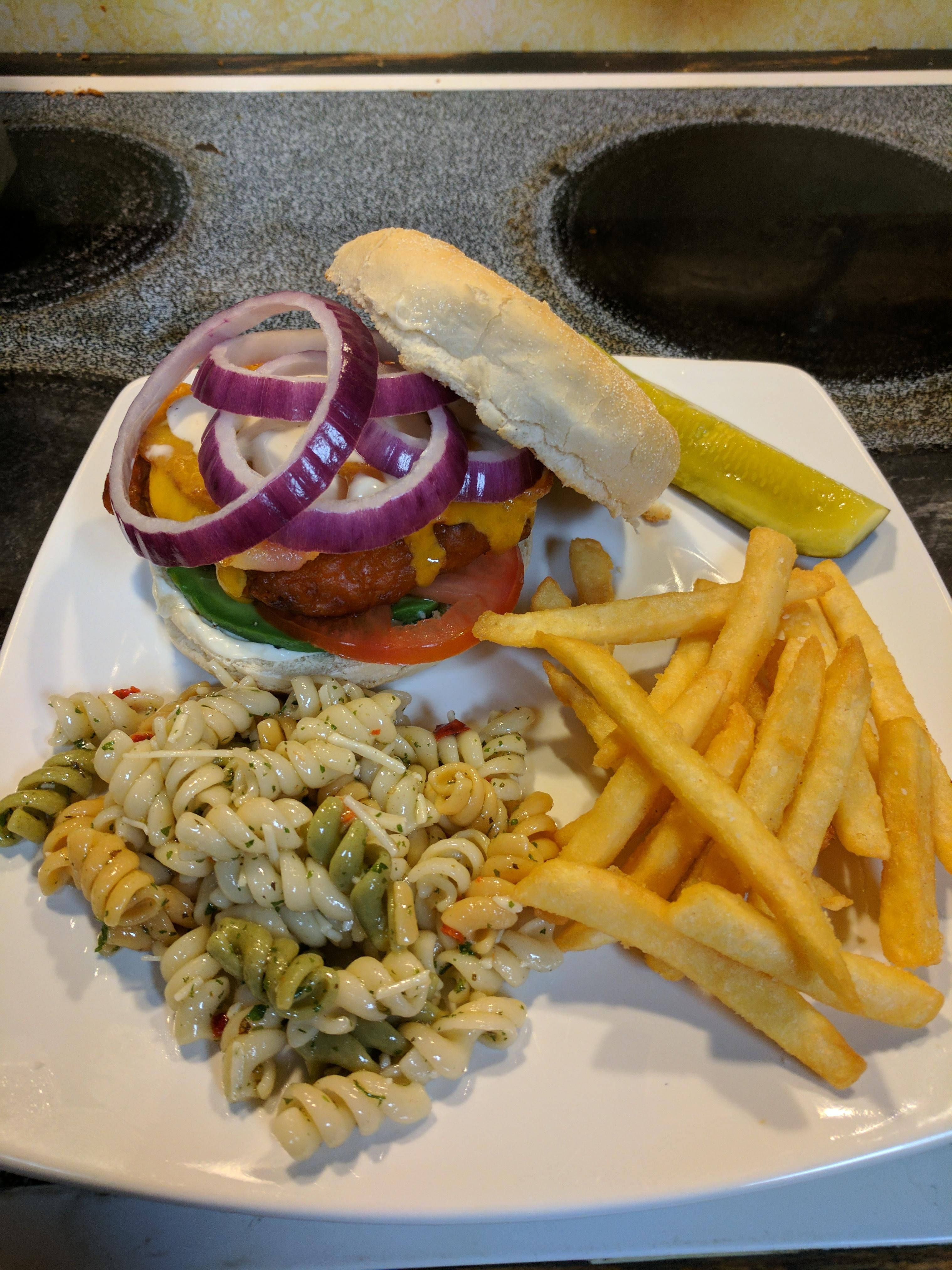 [homemade] Buffalo Ranch Chicken Sandwich. #recipes #food #cooking #delicious #foodie #foodrecipes #cook #recipe #health