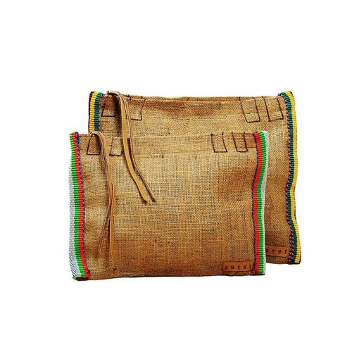 Vintage Burlap Pouch Side - Fab @ Catalog Spree