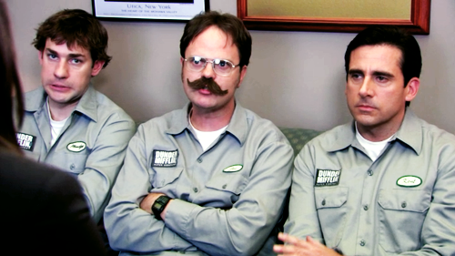 Jim + Dwight + Michael The office jim, The office