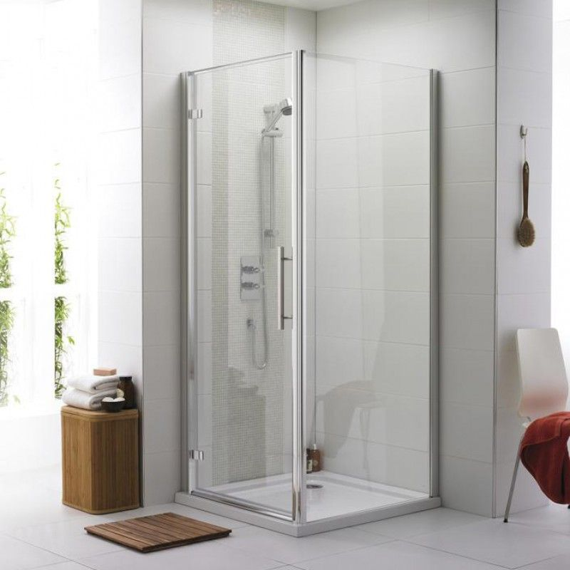 Bathroom And Showers Direct: Apex 760mm Hinge Shower Door