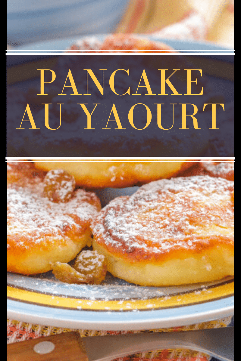 Pancake au Yaourt facile rapide à faire   Recette en 2020   Pancakes  moelleux, Recette, Recette yaourt