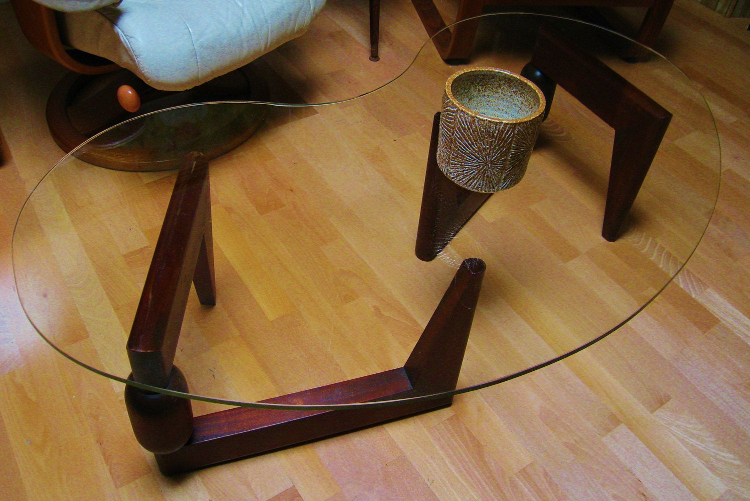 Reserved For Bibi Mid Century Modern In The Manner Of T H Etsy Mid Century Modern Coffee Table Glass Coffee Table [ 1001 x 1500 Pixel ]