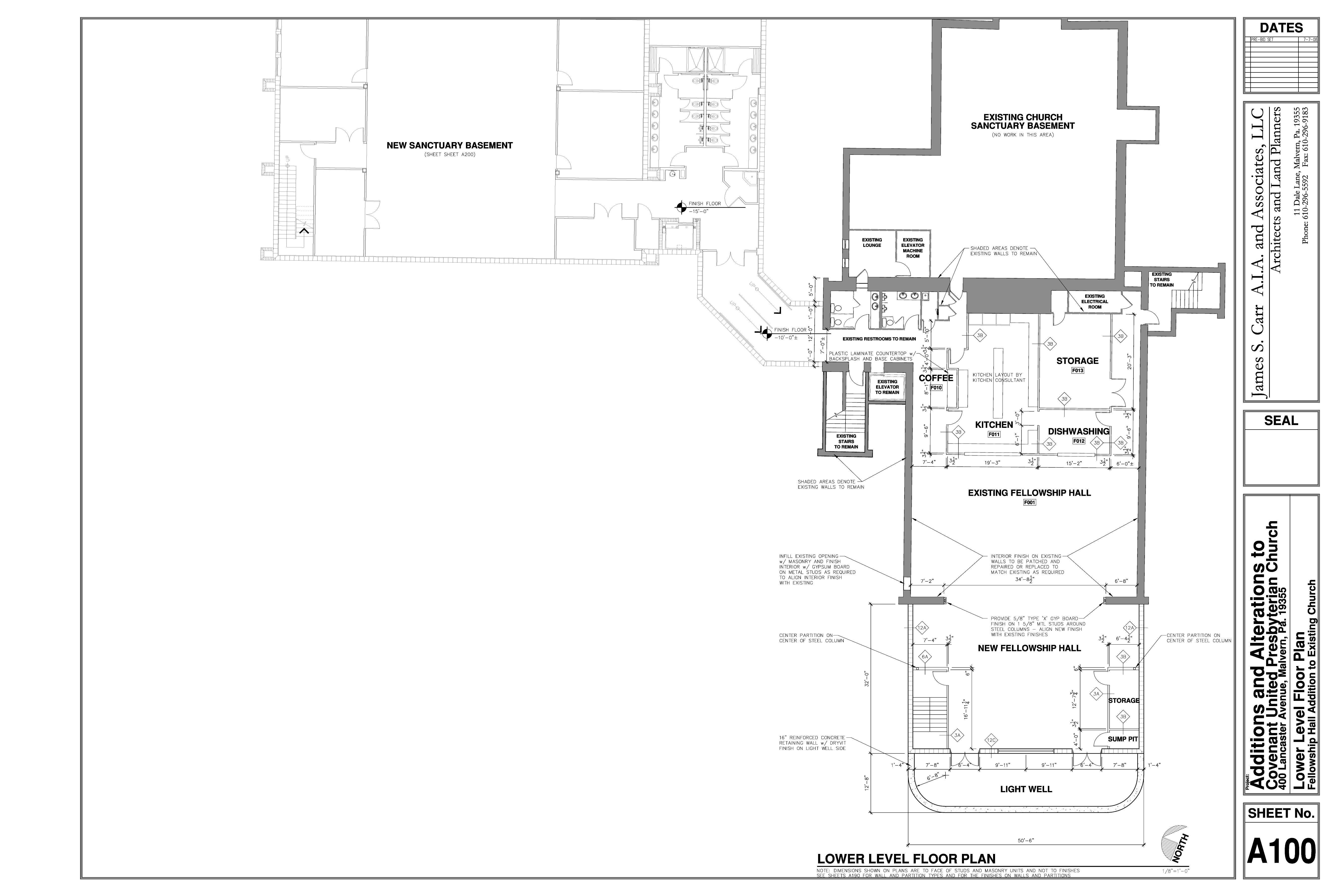 Church Floor Plans With Fellowship Hall