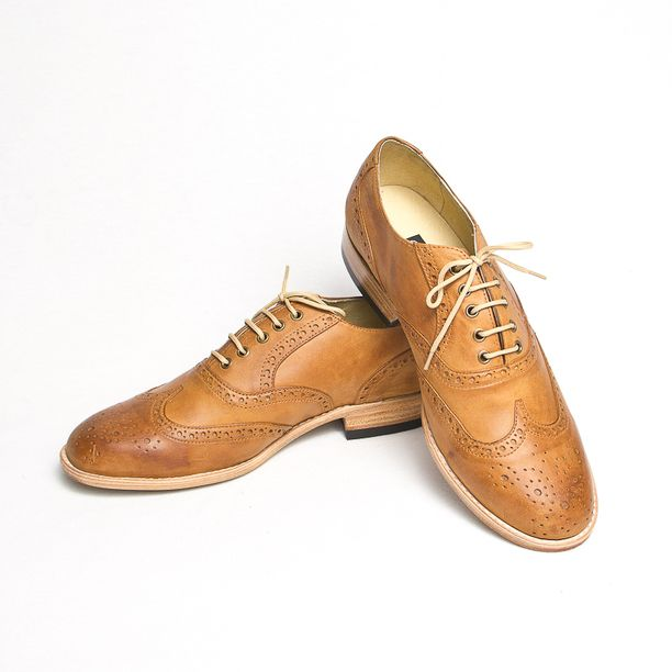 Oxford Shoes Women's Light Brown | Brown brown, Light browns and ...