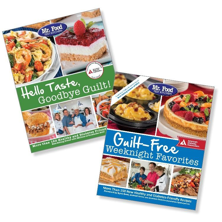 Set mr food test kitchen guilt free weeknight favorites hello food forumfinder Image collections