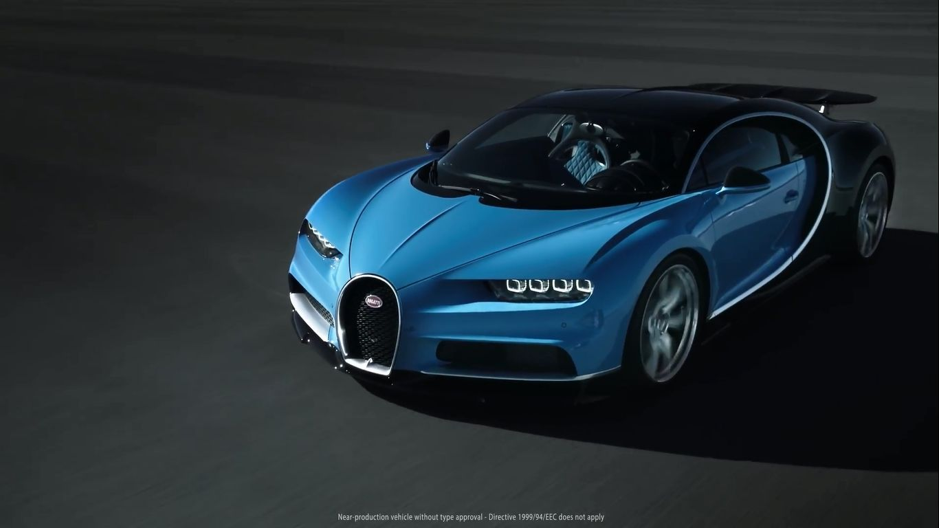 Bugatti Chiron Sport Car Hd Wallpaper 1920x1080 Buggati Bbt Only