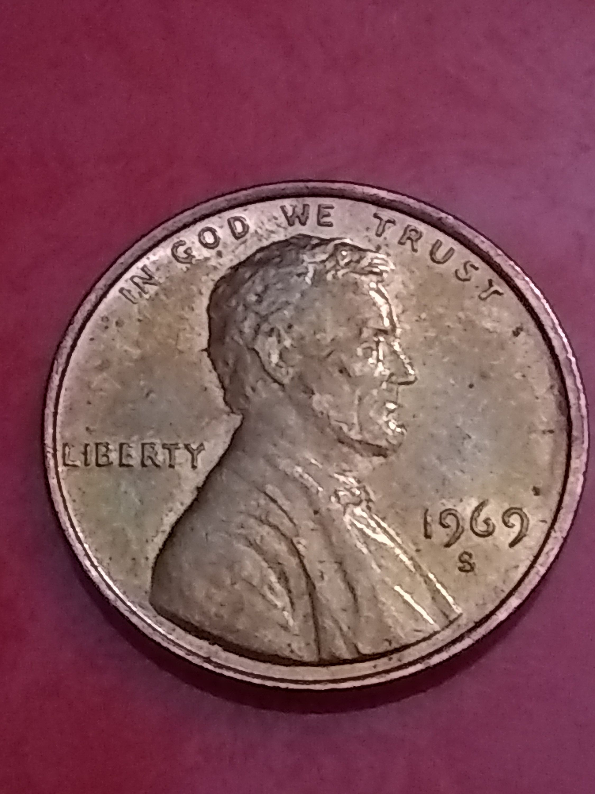 1969-D Uncirculated LINCOLN CENT ROLL