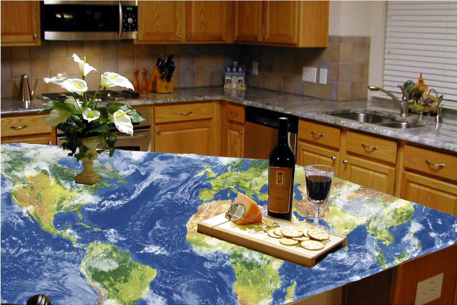 recycled glass kitchen countertops lowes outdoor kitchens available right here in