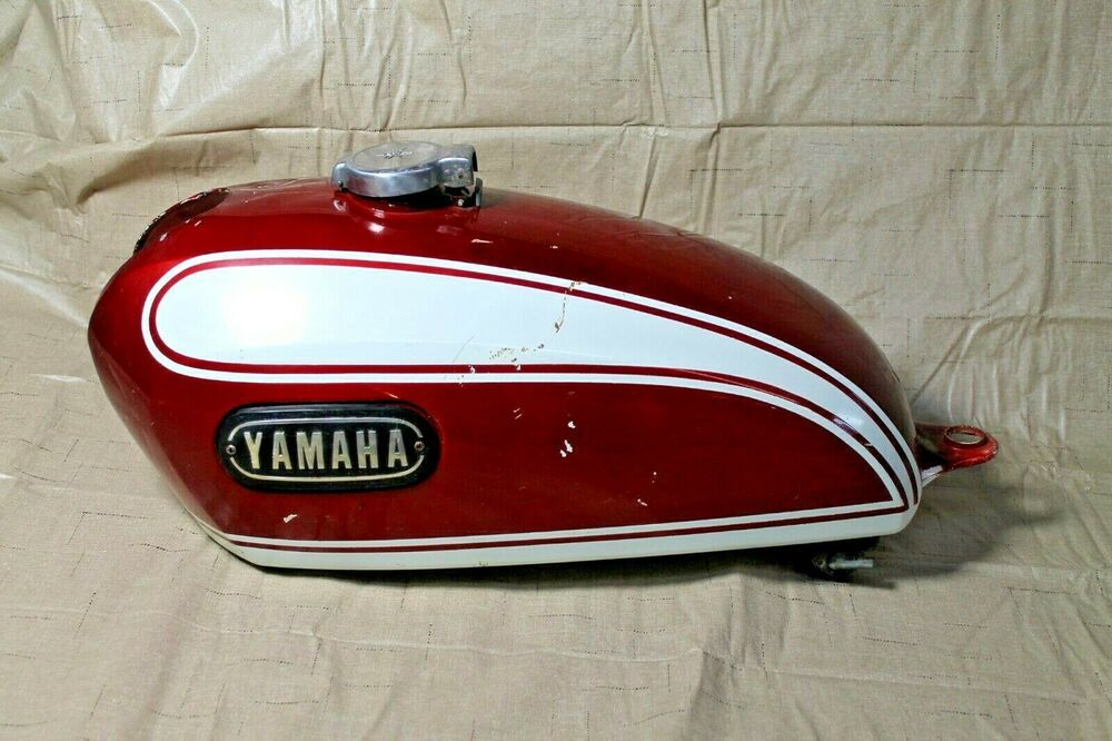1972 Yamaha Xs650 Xs 2 Fuel Petrol Gas Tank Petcock 256 24110 00 X3 Yamaha Bike Tank Yamaha Xs650