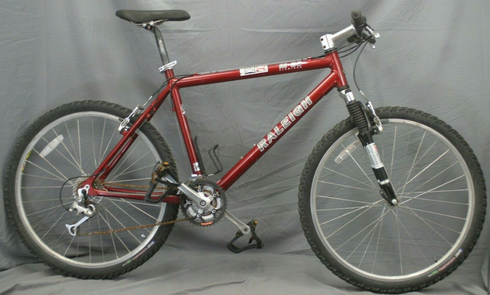Raleigh M80 Mountain Bike L 20 Mtb Rockshox Judy Usa Made Sram