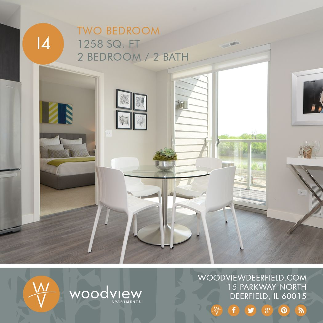 Take a peek at our 2 bedroom / 2 bath model - we know you ...